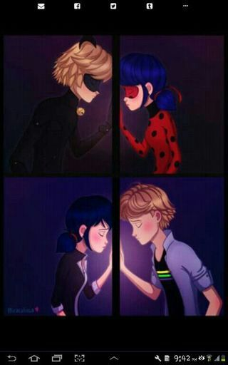 Ladybug y chat noir se conocen [PUNIQRANDLINE-(au-dating-names.txt) 27