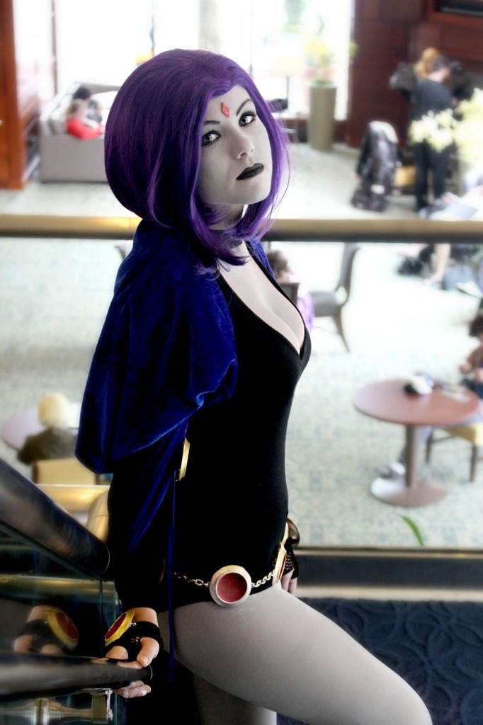 Comikaze 2014 Raven Titans Abby Normal Cosplay by wbmstr
