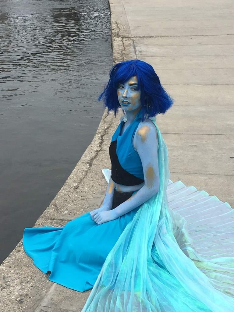 Lapis lazuli cosplay gem