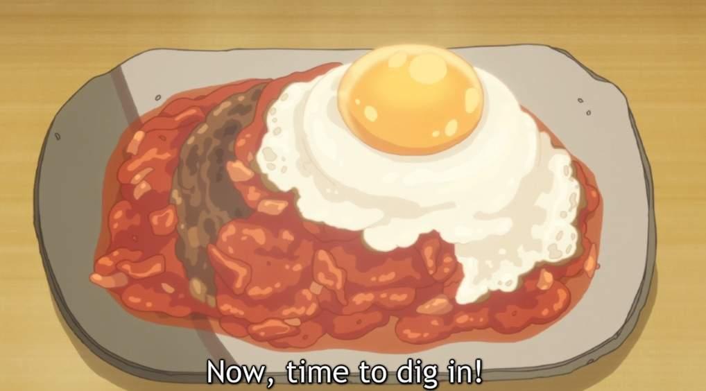 🌸⚡ 🍬Sweetness and lightning hamburger steak🌸⚡ 🍬 | Anime Amino