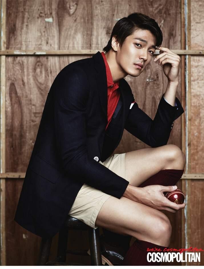 [Photos] Ha Seok-jin and Lee Jae-yoons Cosmopolitan photo