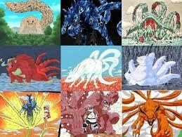 As 9 Bijuus De Naruto