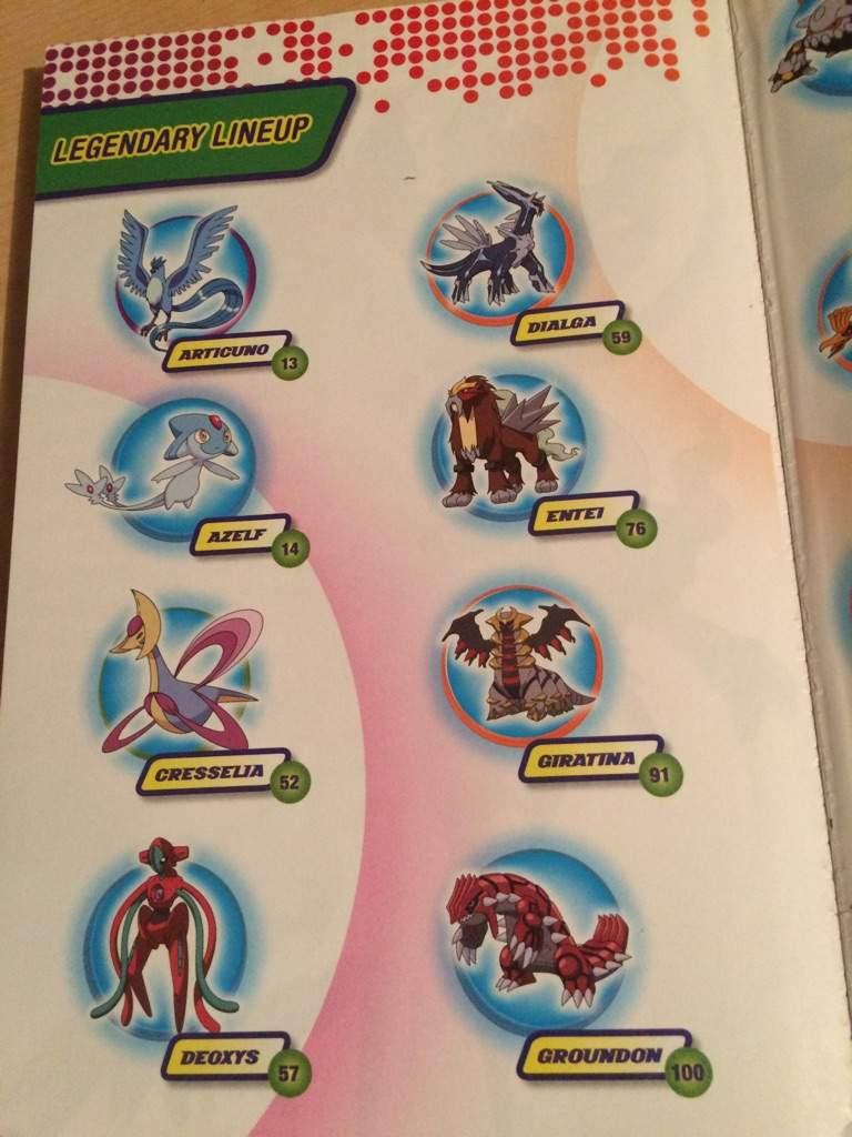 pokemon ultimate handbook errors