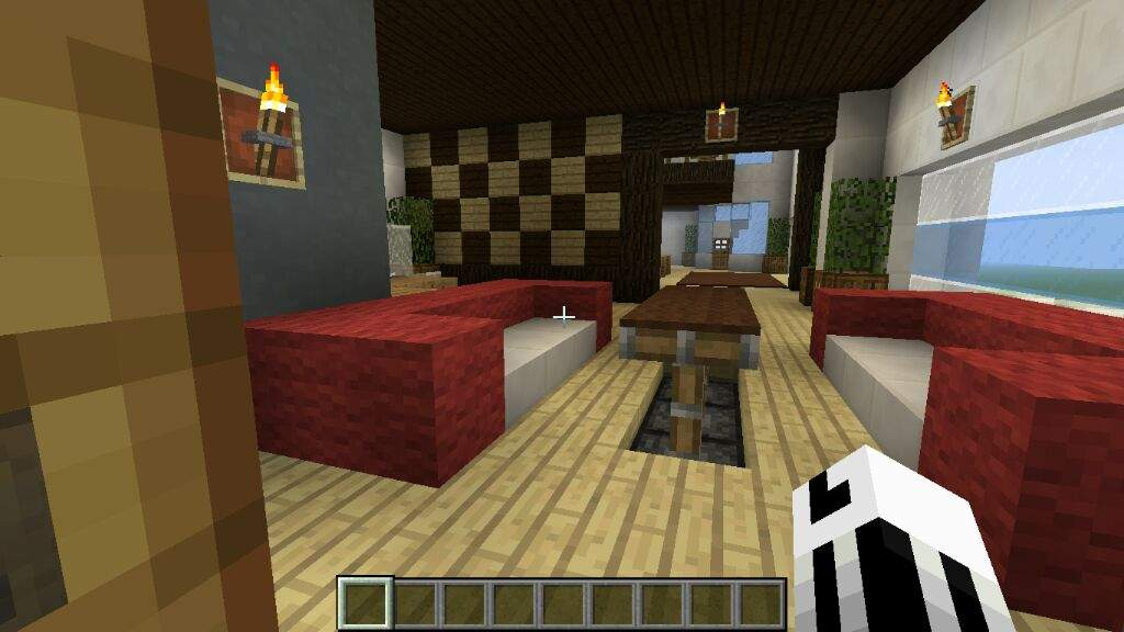 Modern house minecraft amino for Dining room minecraft