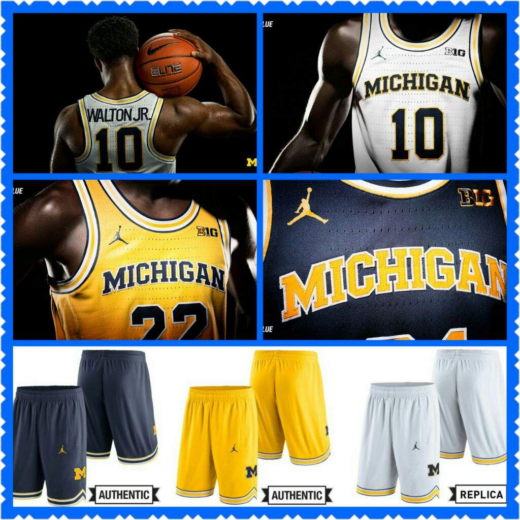 Air Jordan Retro Michigan PE Collection  7347e2067