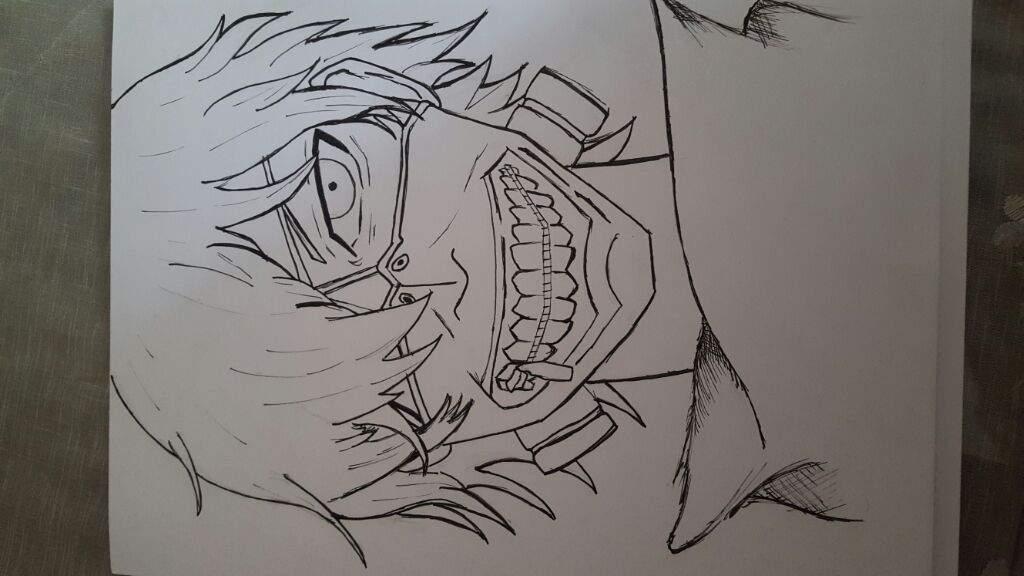Tutorial De Dibujo = Kaneki= Tokyo Ghoul🖋[FanArt]