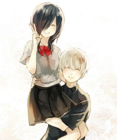 Resultado de imagem para casal touka e kaneki