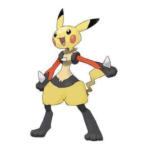 pokemon fusion lucario and pikachu pokémon amino