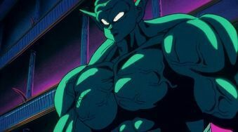 Garlic Jr The First Dbz Immortal Dragonballz Amino His first form is small with pointy ears, blue skin, and fangs. amino apps