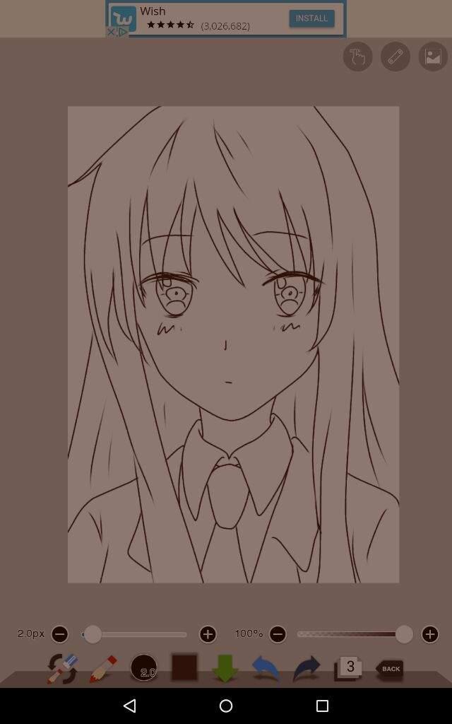 Drawing Smooth Lines With Cocos D : Mashiro shiina drawing tutorial anime amino