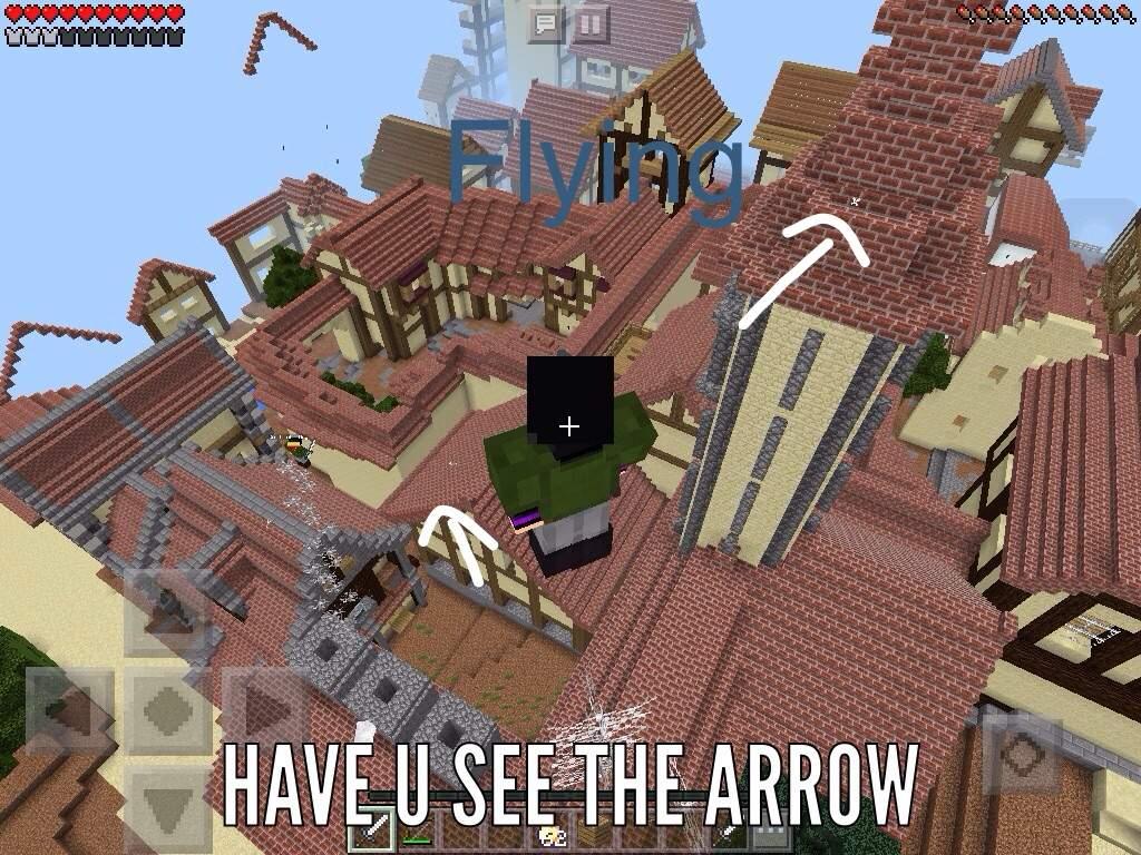 Attack on titan map minecraft pe
