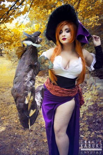 Dragon crown happy halloween sorceress