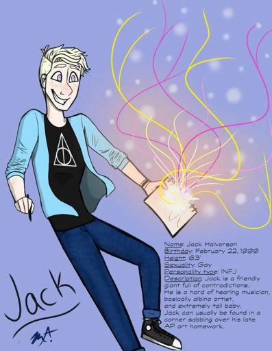 Meet Jack Halvorson | Comic Maker Amino Amino