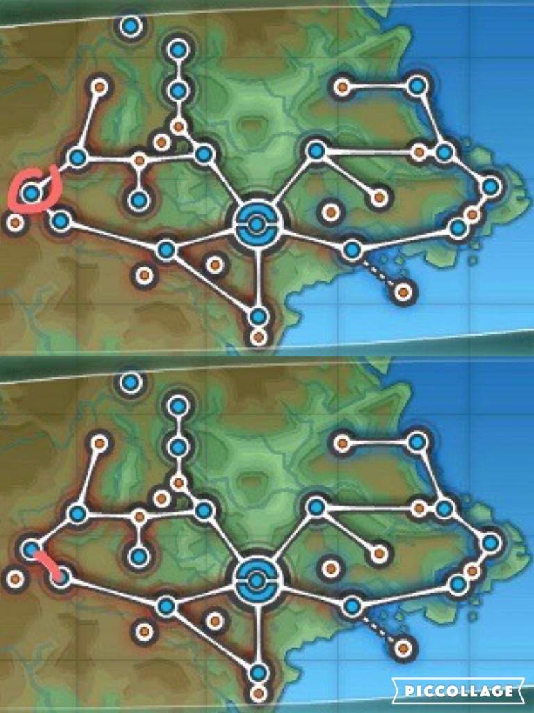 how to get to couriway town in pokemon x