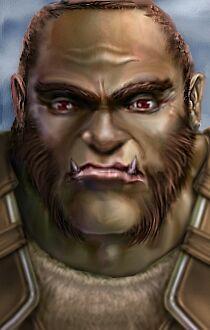 Half Orc Portrait Races - Half-Or...