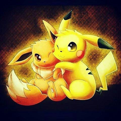 Pokemones y parejas favoritas pok mon en espa ol amino - Pokemon famille pikachu ...