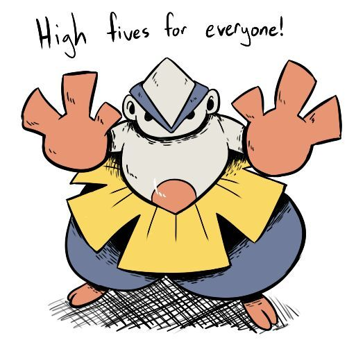 Hariyama | The Elements | Pokémon Amino
