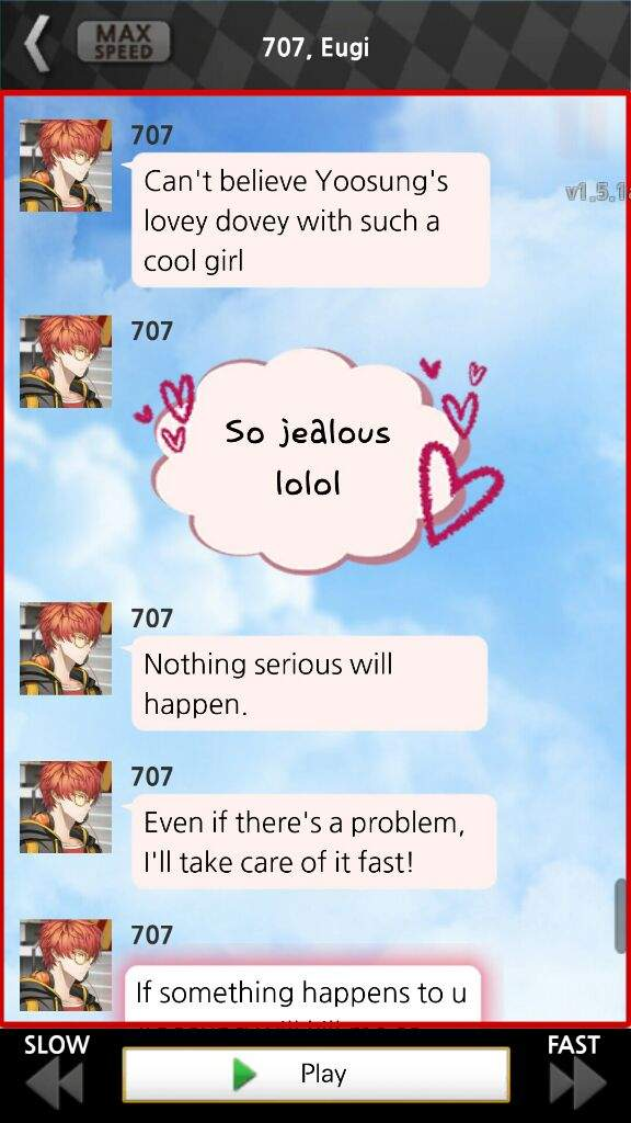 Ahhahahaha lol don\u0027t worry Yoosung