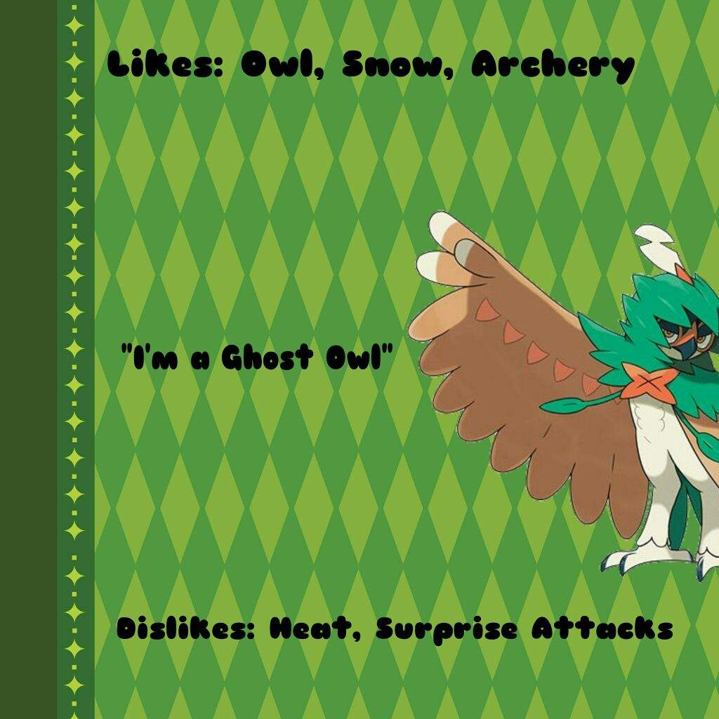 decidueye and chestnaught trying - photo #46