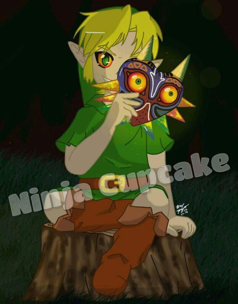 Speedpaint Saturday: Majora's Mask | Zelda Amino