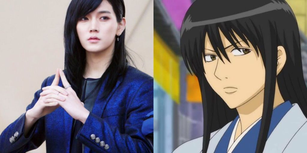 Anime Characters In Real Life : K pop stars that are basically anime characters in real