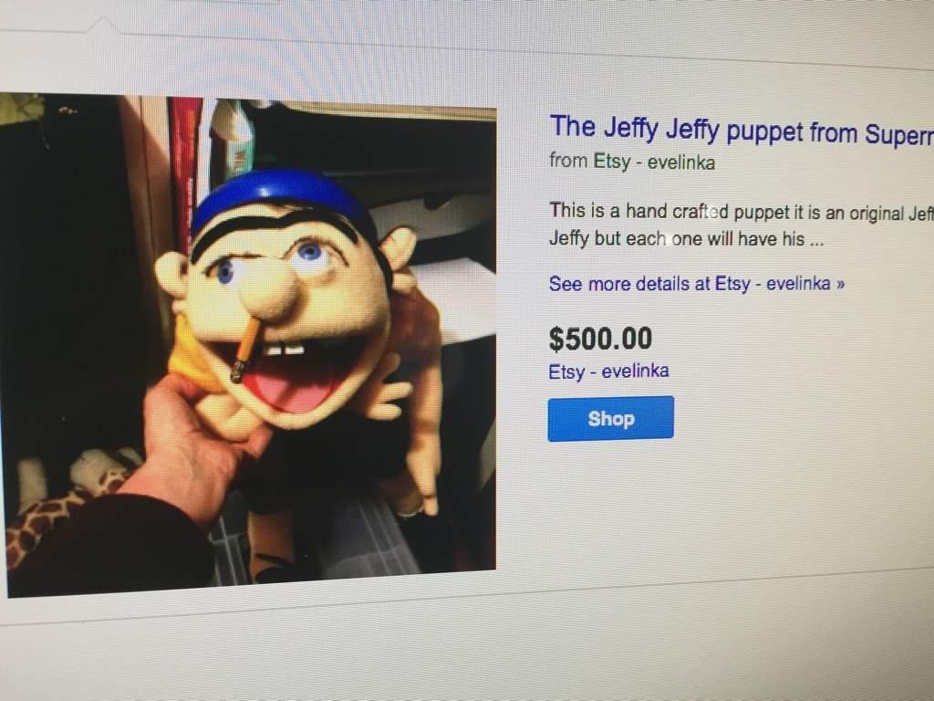 Jeffy puppet cost 500.00$ | (SML) SuperMarioLogan Amino Amino