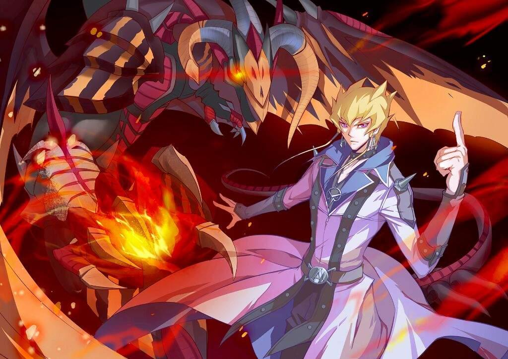 Red Nova Dragon Wallpaper Yu-Gi-Oh! Aiisa...