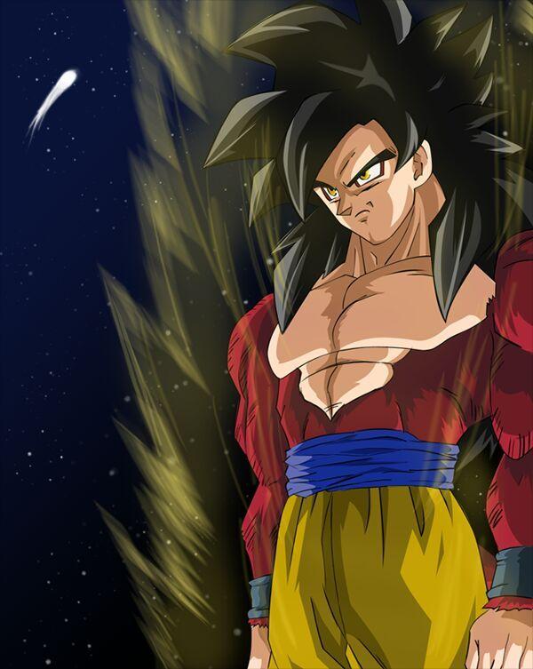 WhatIf Super Saiyan 4  Goku vs Golden Cell  DragonBallZ Amino