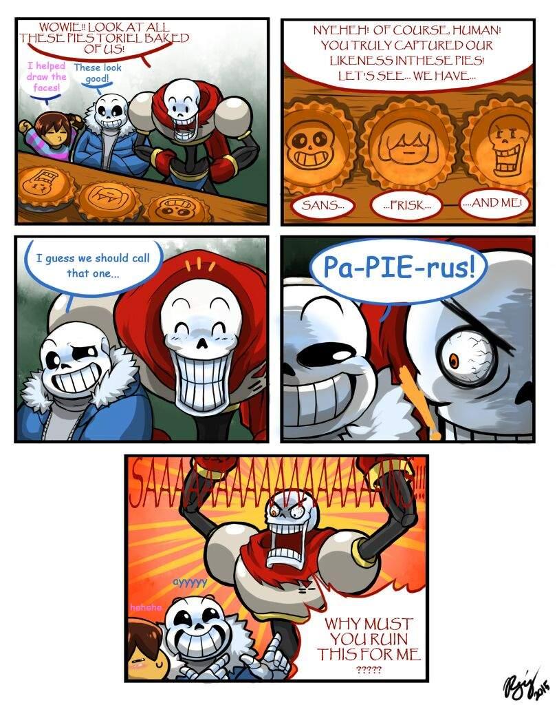 Funny Undertale Comics