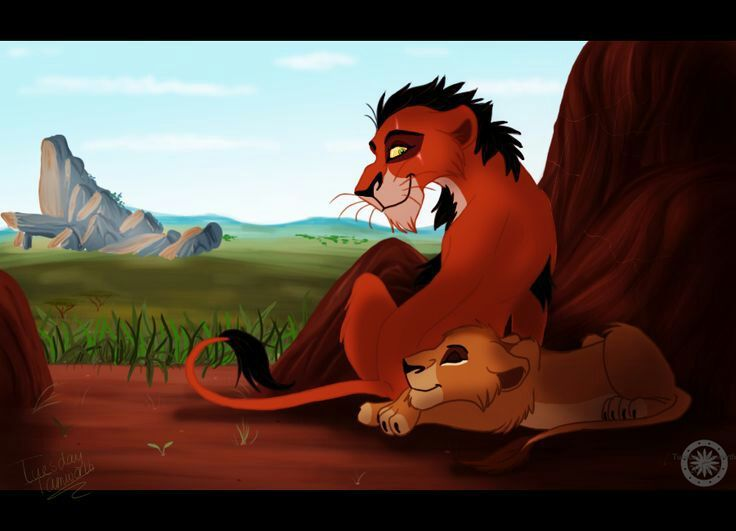 The lion king mufasa and scar story