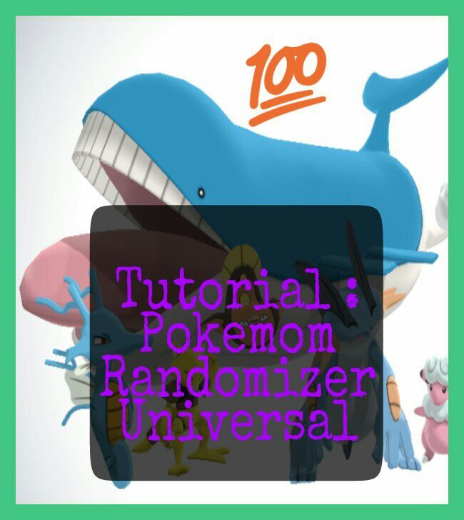 universal pokemon randomizer tutorial The zip file includes the executable as well as arch's tutorial  i've been using it for years and the pokemon randomizer is what  universal gba fe randomizer.