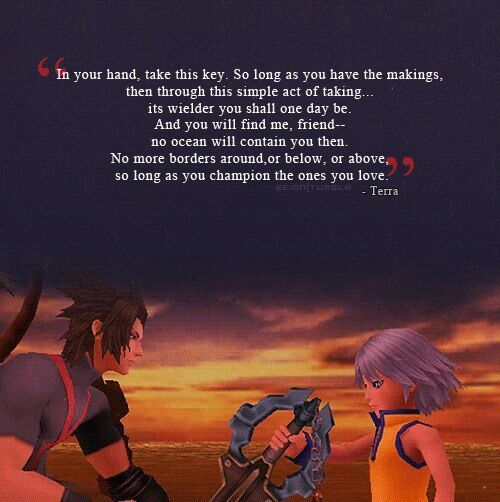 This quote is amazing | Kingdom Hearts Amino