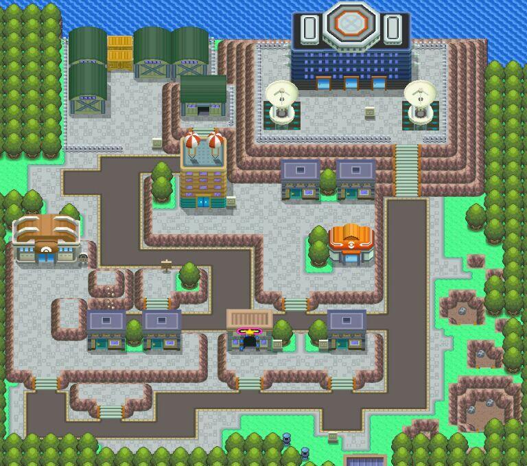 Pokemon Platinum Team Galactic Building