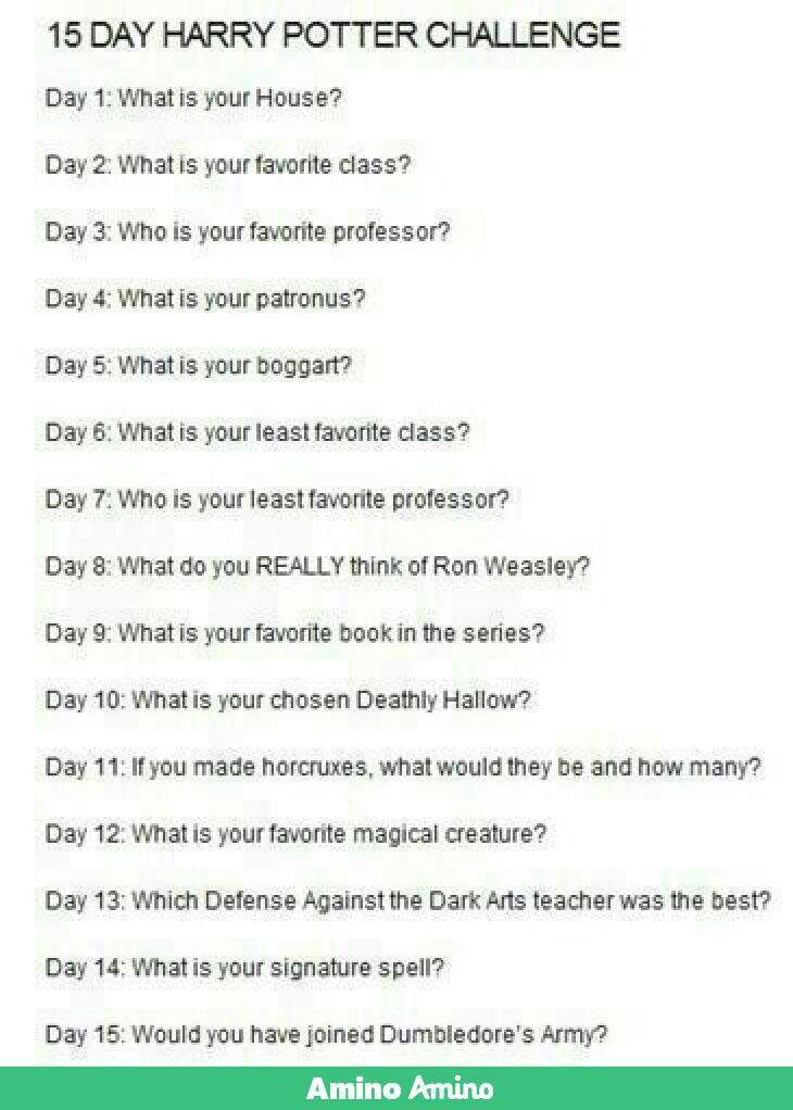15 Day Harry Potter Challange: Day 8 | Harry Potter Amino