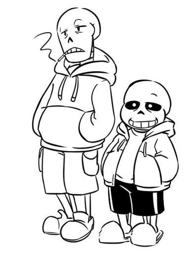 Bad time sans coloring pages coloring pages for Sans coloring page