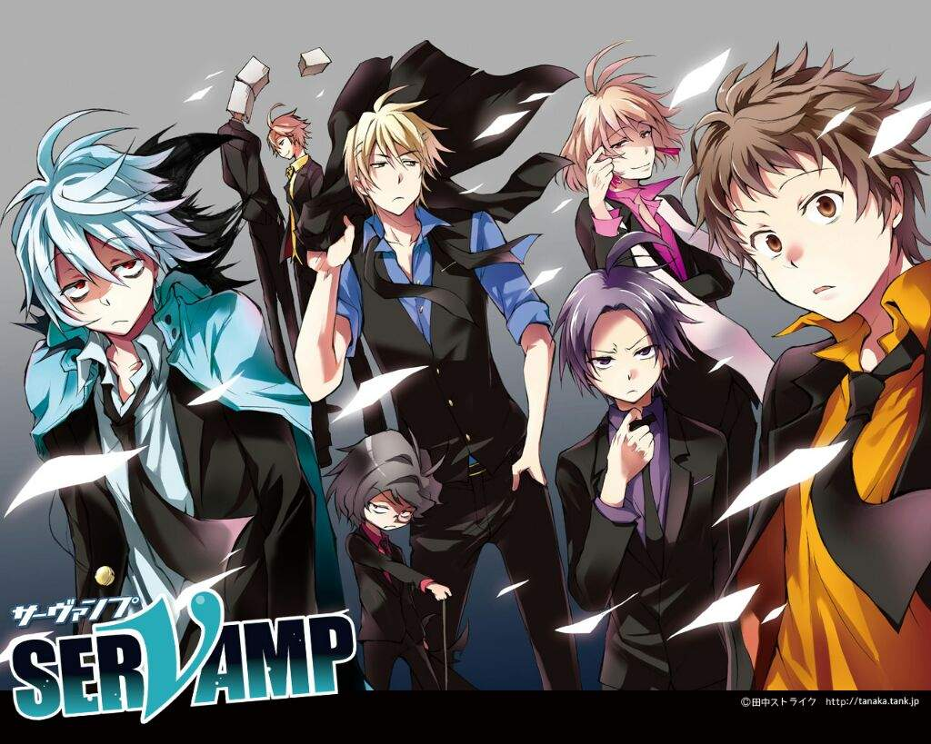 Anime Characters Born On November 6 : Servamps and their eves anime servamp amino