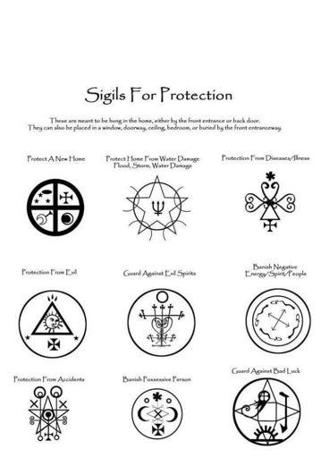Protection sigils   Supernatural Amino