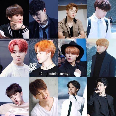 BTS Hair Colors Through Different Eras
