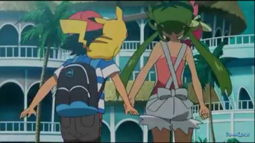 mallow and ash Pokemon