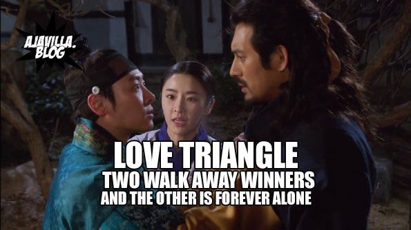 the problem with love triangles relationship