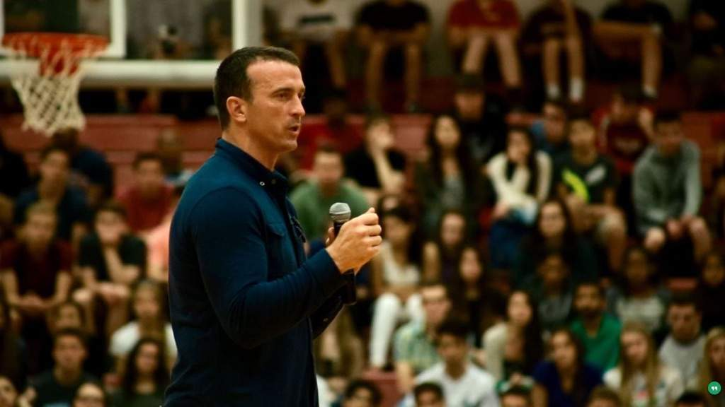 He is a motivational speaker going around the world telling his story and  still is a youth basketball coach. This blog is in honor of his revival. bb302c1f1