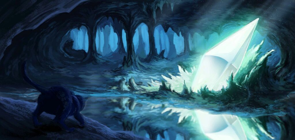 Warrior Cats Dirt Place Tunnel In Lake