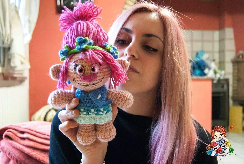 Trolls Knitting Or Crocheting Patterns : Princess poppy from trolls 🌸🌸 crafty amino