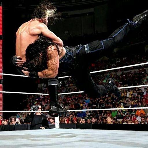 Roman Reigns Spear ! | Wiki | Wrestling Amino