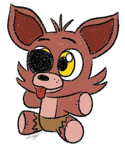 Foxy Plushie Five Nights At Freddy S Amino