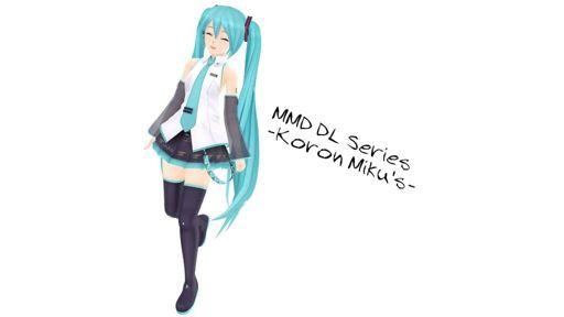 MMD DL Series] Koron Miku's | Wiki | MMD Amino