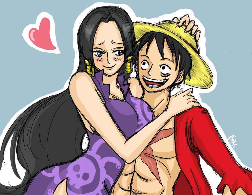 Who Would Make A Great Couple With Luffy, Nami Or Boa