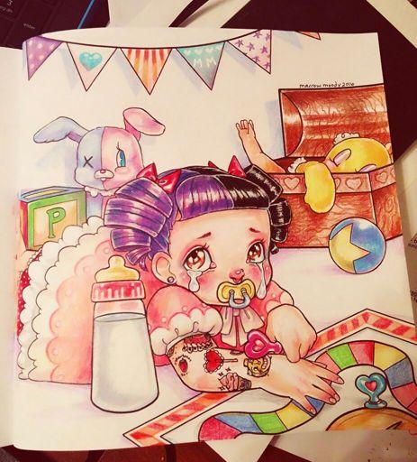 - 🎨 Random CryBaby Coloring Book Page?? Crybabies Amino