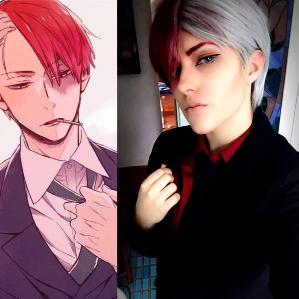 Villian! Todoroki (bnha) | Cosplay Amino