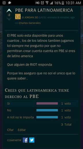 PBE para latinoamerica   League of Legends en Español Amino